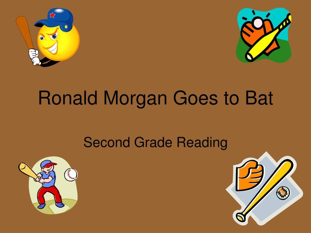 ronald morgan goes to bat l.