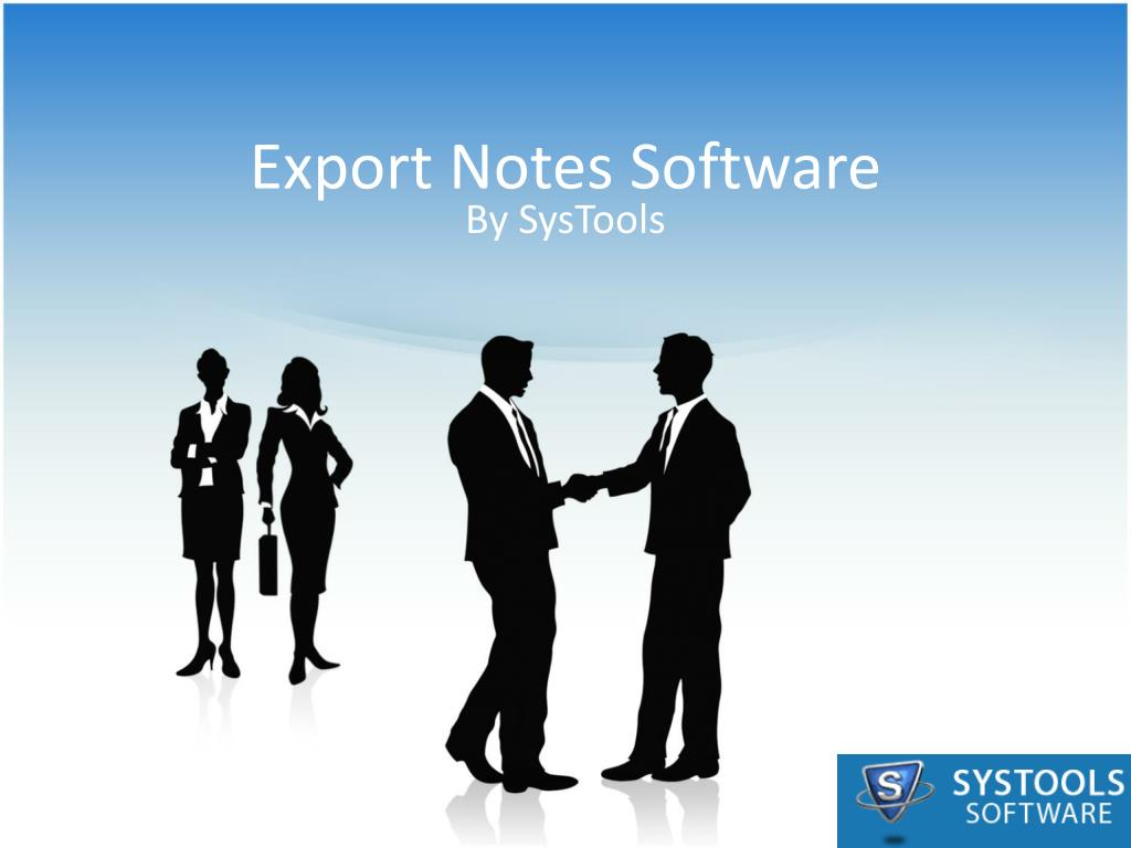 export notes software l.