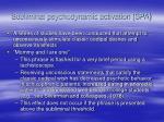 subliminal psychodynamic activation spa