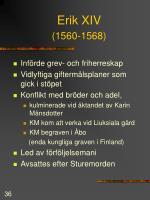 erik xiv 1560 1568