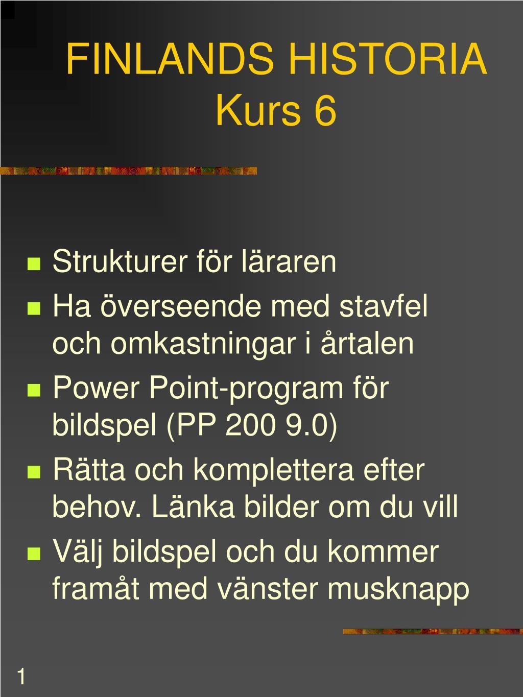 finlands historia kurs 6 l.
