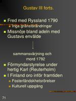 gustav iii forts71