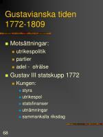 gustavianska tiden 1772 1809