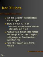 karl xii forts