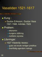 vasatiden 1521 1617