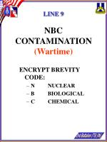 line 9 nbc contamination wartime