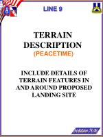 line 9 terrain description peacetime