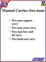 manual carries two man