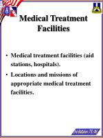 medical treatment facilities