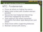 mtc fundamentals