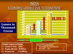 india economic losses due to disasters