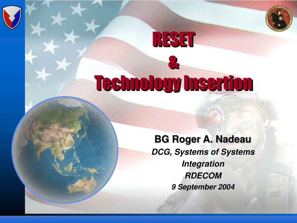 reset technology insertion l.