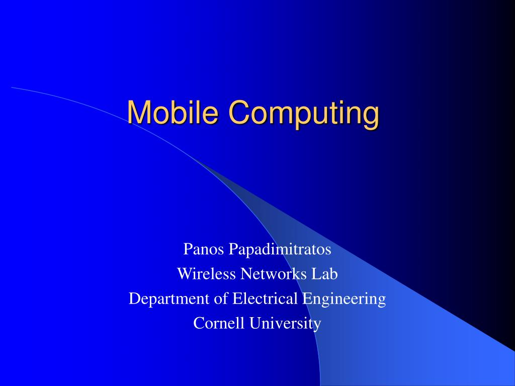 mobile computing l.