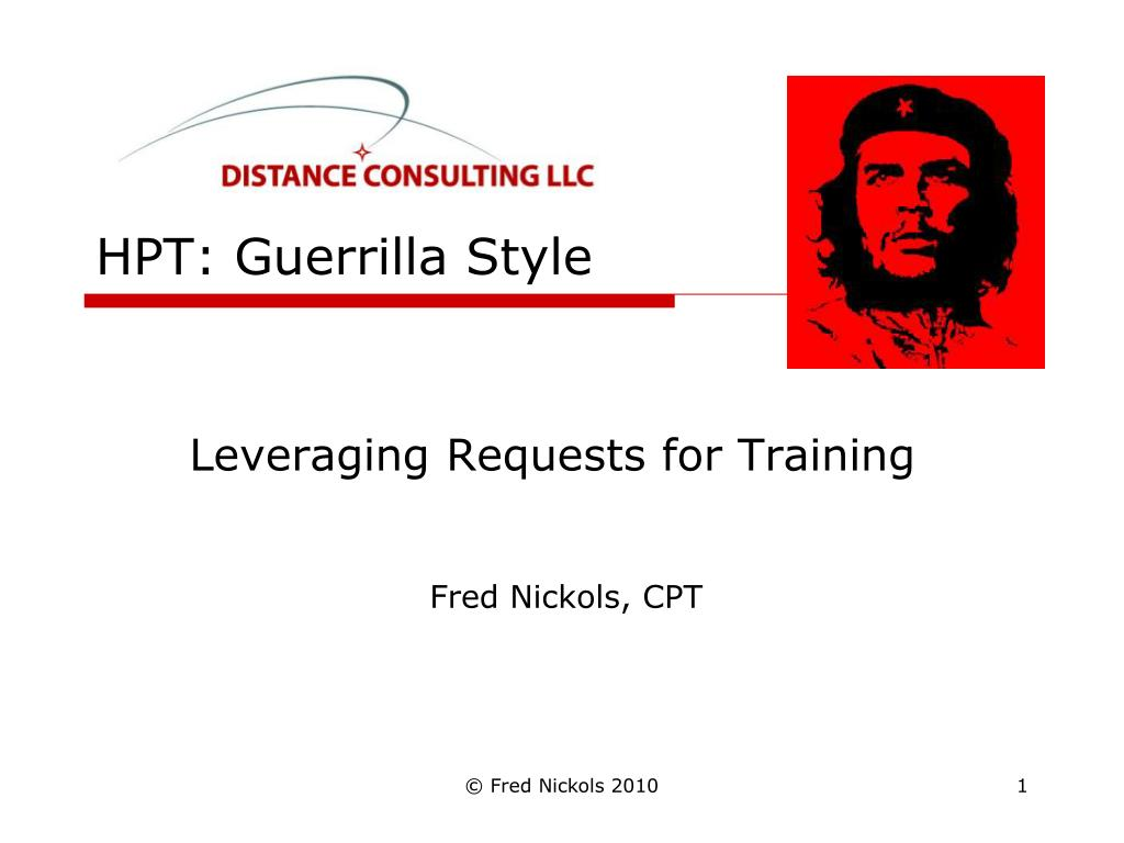 hpt guerrilla style l.