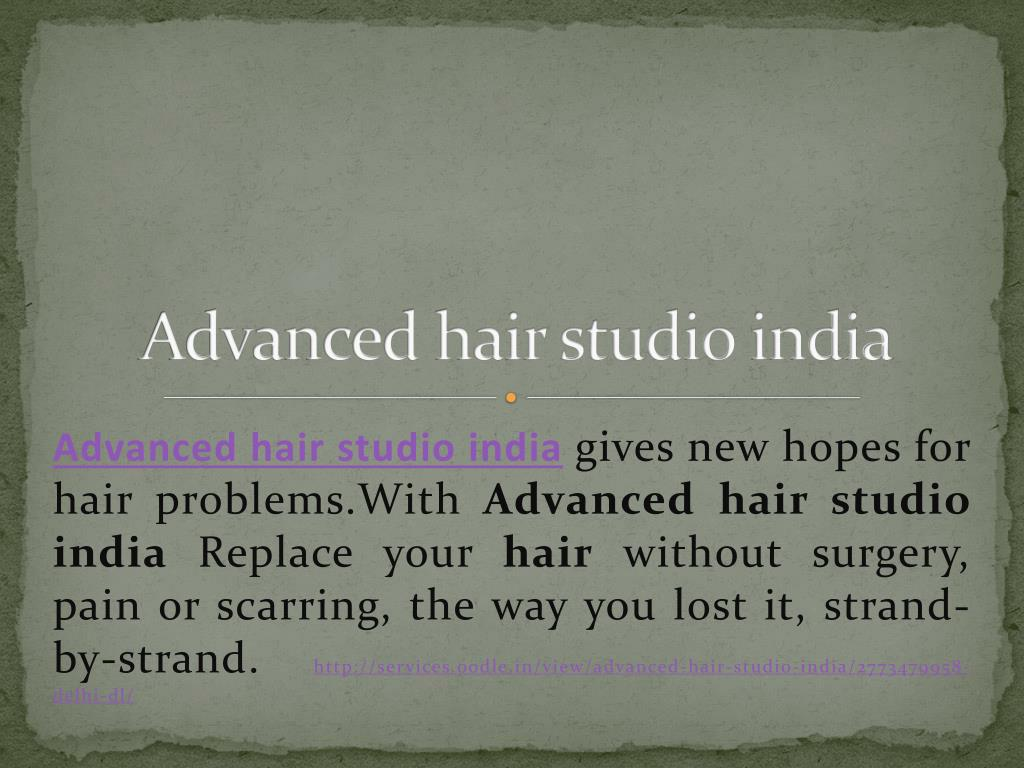 advanced hair studio india l.