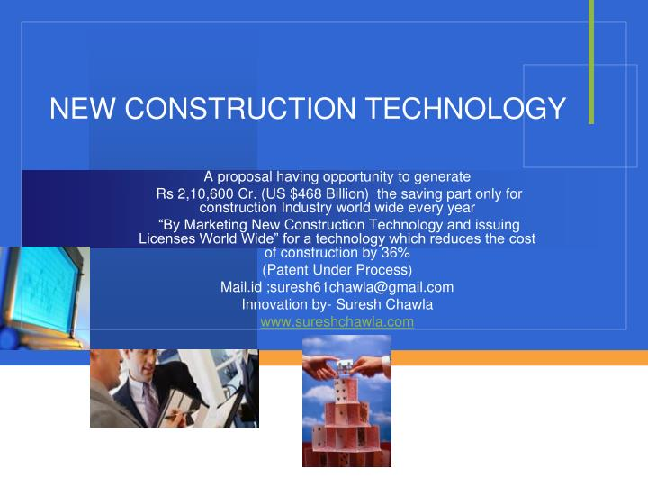 new construction technology n.
