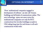 options on internet