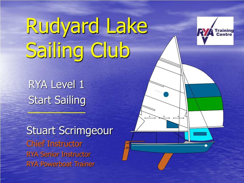 rudyard lake sailing club l.