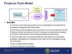producer push model