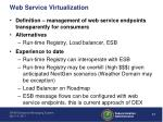 web service virtualization