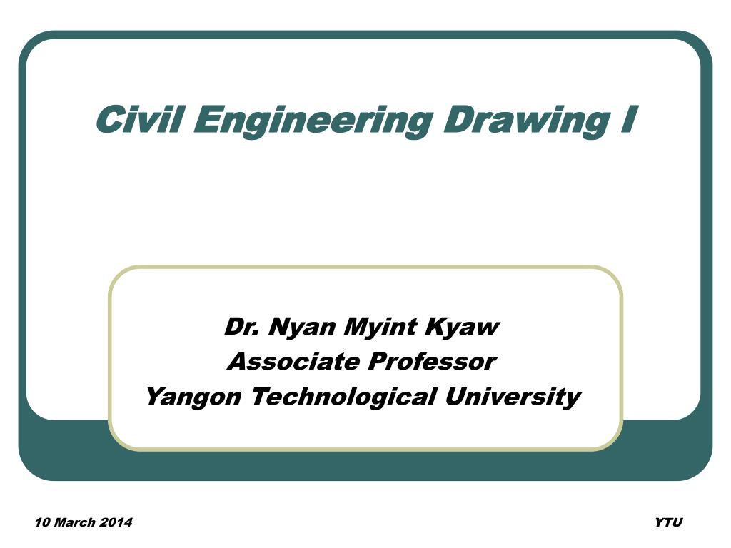 civil engineering drawing i l.