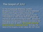 the gospel of john21