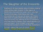 the slaughter of the innocents