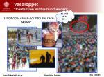 vasaloppet contention problem in sweden