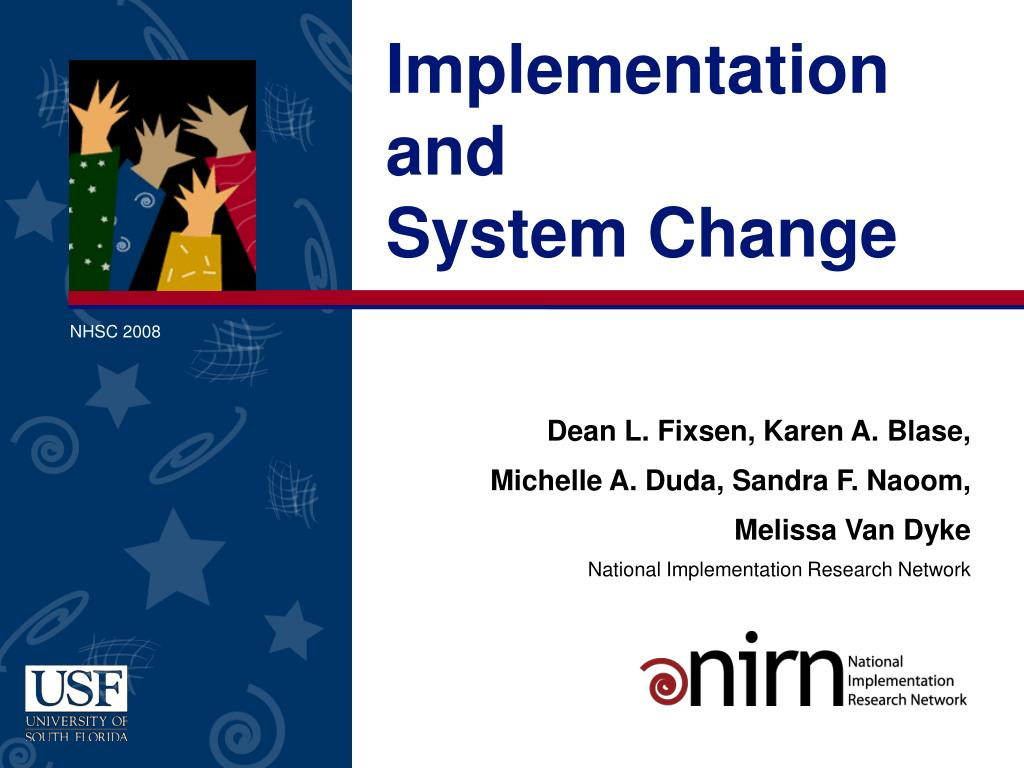 implementation and system change l.