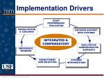 implementation drivers22