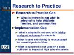 research to practice6