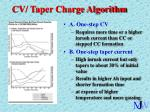 cv taper charge algorithm