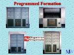 programmed formation21