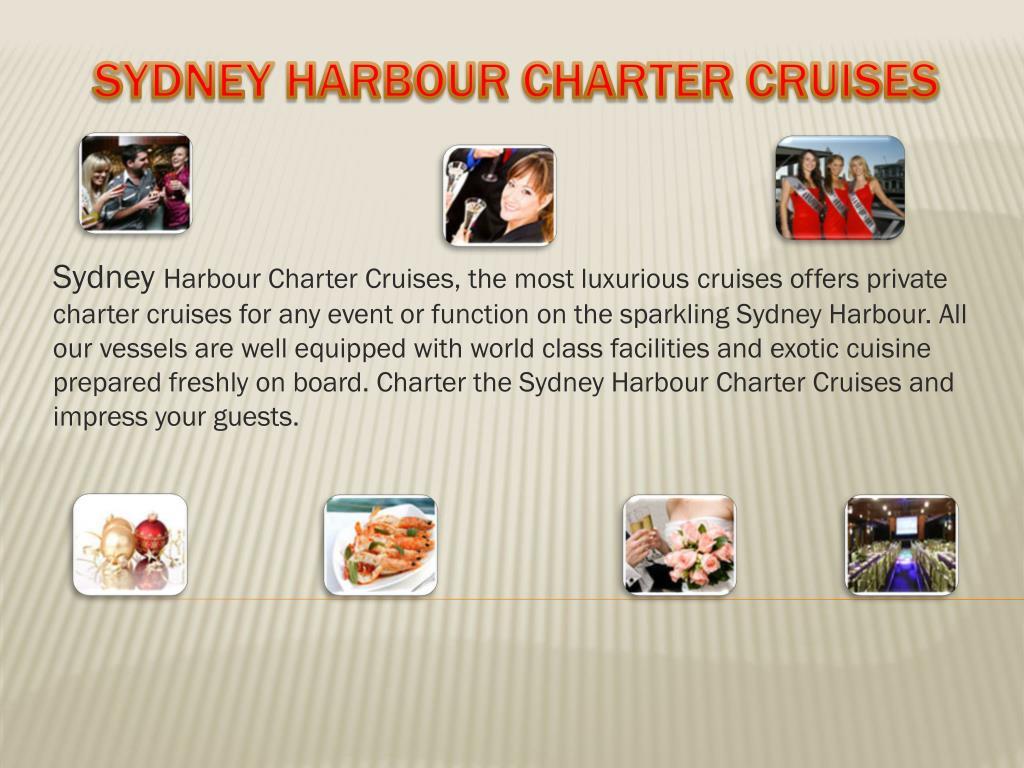 sydney harbour charter cruises l.