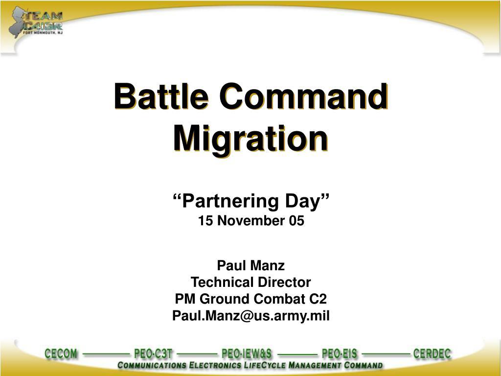 battle command migration l.