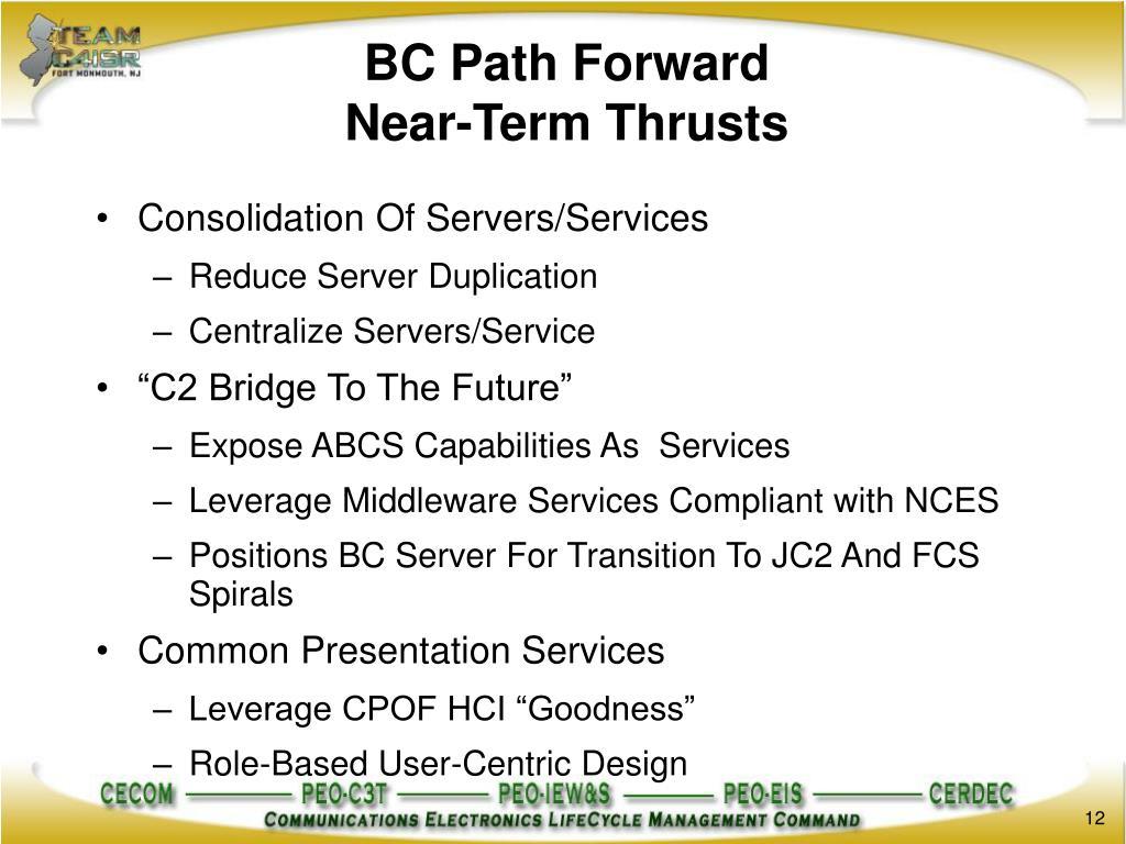 BC Path Forward
