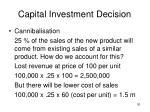 capital investment decision30