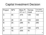 capital investment decision45