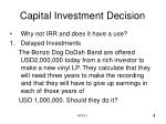 capital investment decision9