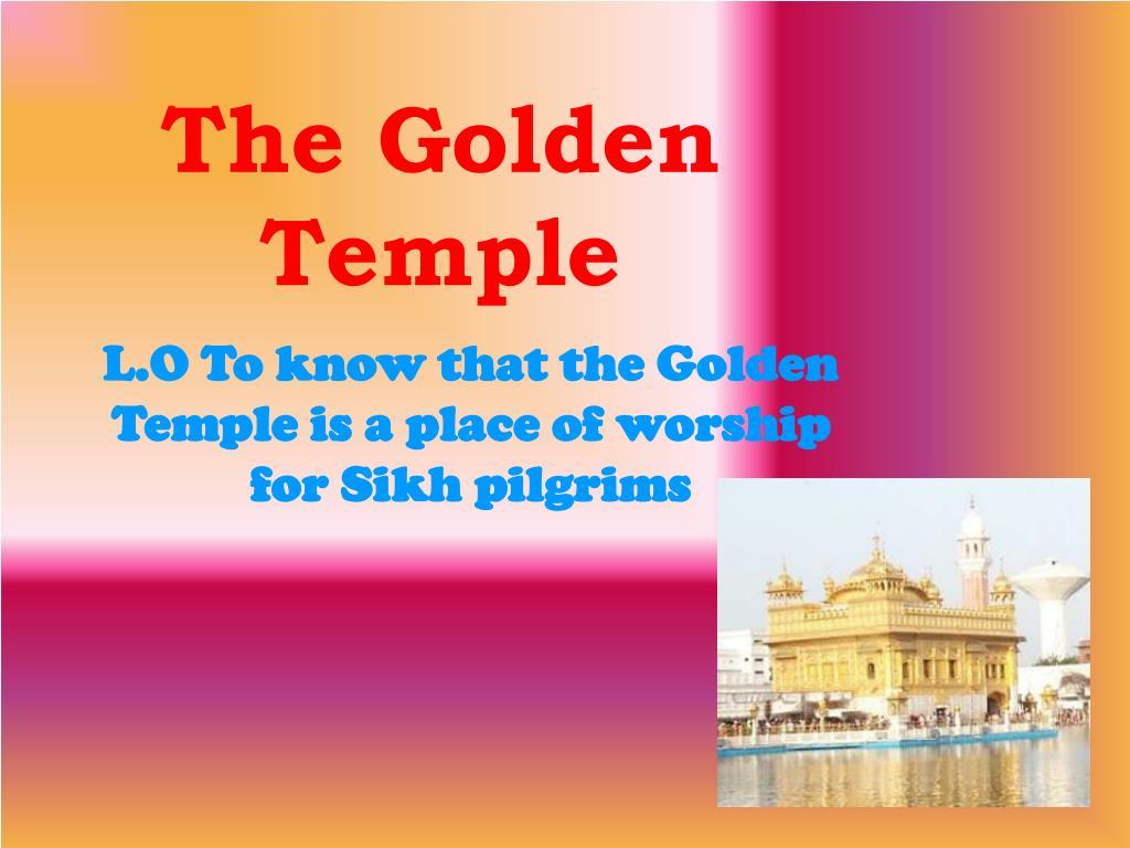 the golden temple l.