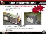 silent tactical power efforts