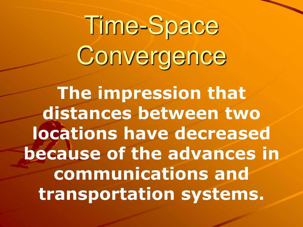 time space convergence l.