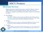 mscu products20
