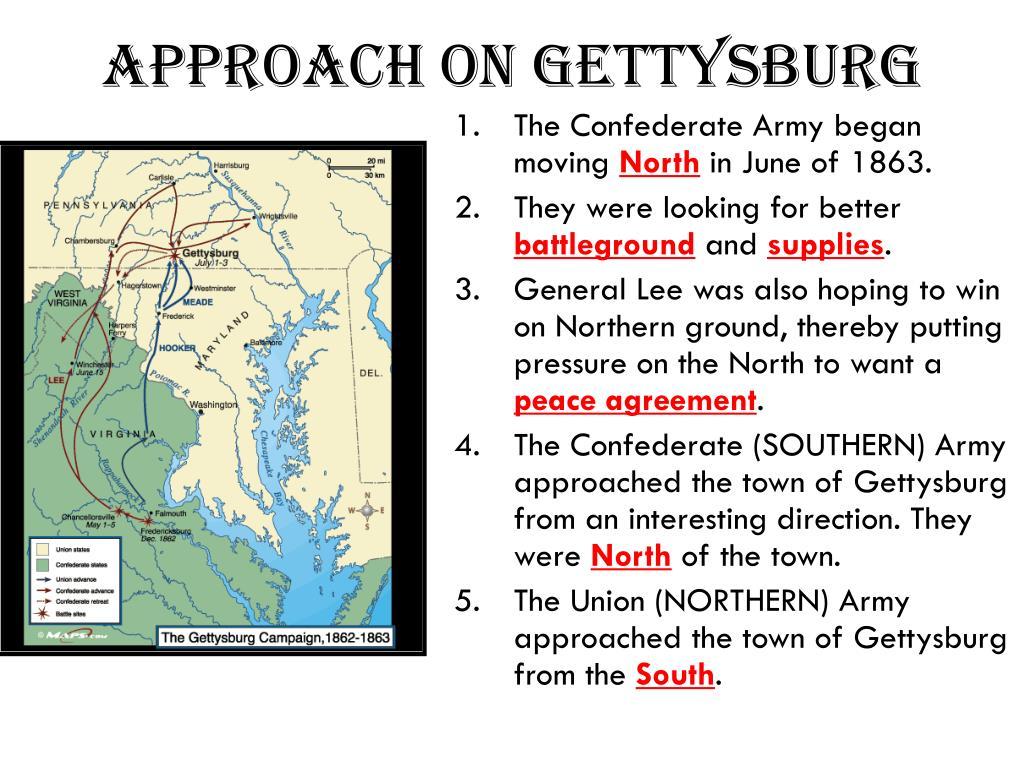 approach on gettysburg l.