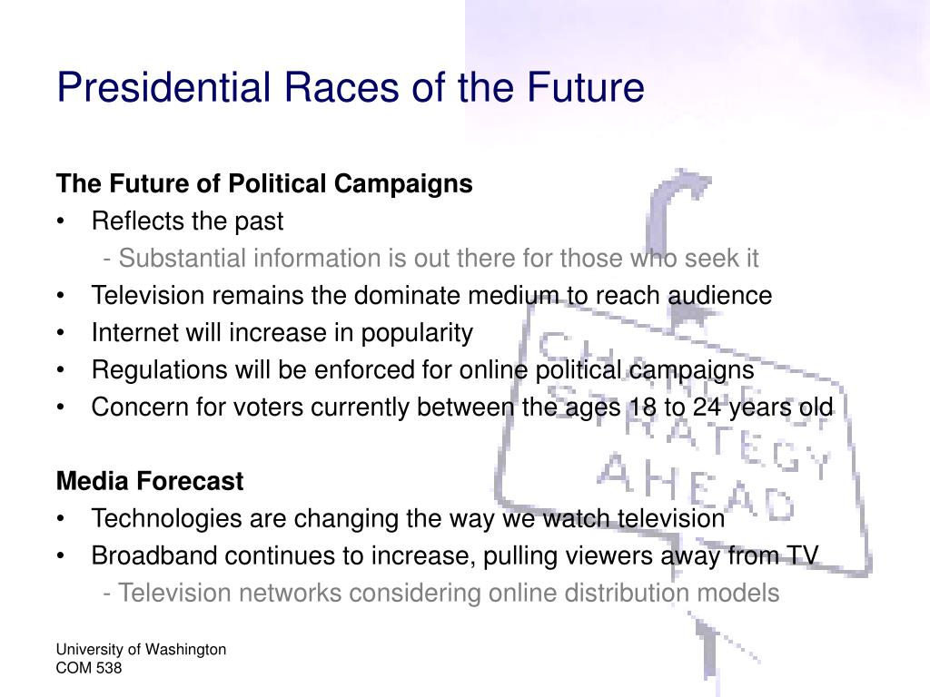 Presidential Races of the Future