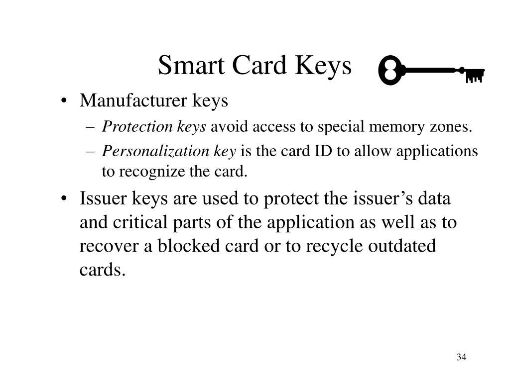 Smart Card Keys