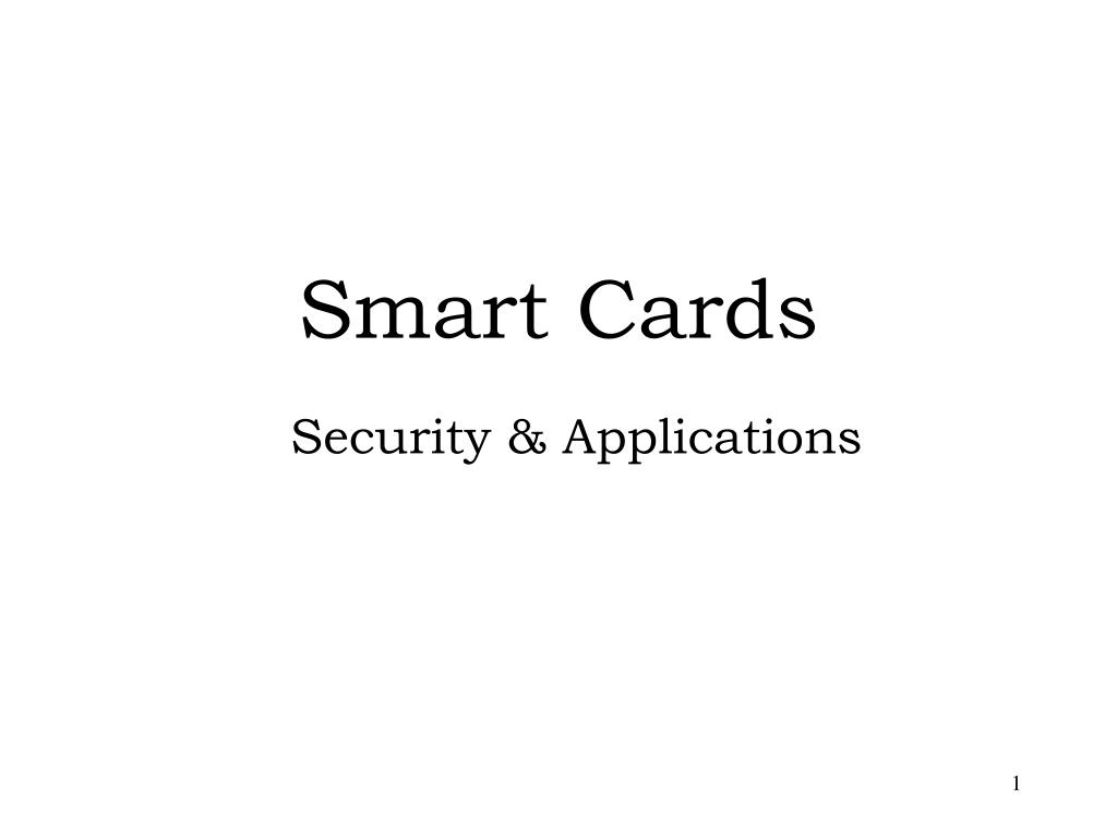 smart cards l.