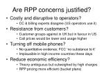 are rpp concerns justified