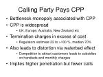 calling party pays cpp