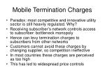 mobile termination charges